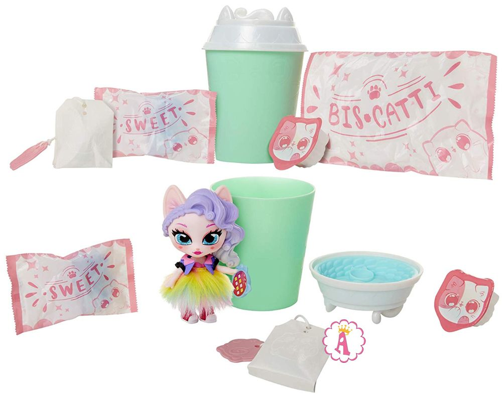 Новинки игрушек сюрпризы Kitten Catfé Purrista Girl Dolls