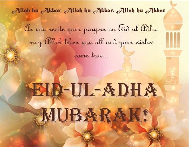 Happy Bakri Eid Greetings