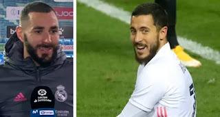 Karim Benzema believes Eden Hazard will do well this season at Madrid