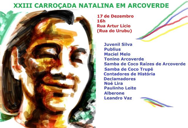 CARROÇADA NATALINA ACONTECE PRÓXIMO DIA 17 (SAB) EM ARCOVERDE