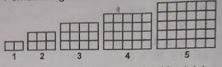 soal matematika kelas 8 semester 2 pola bilangan