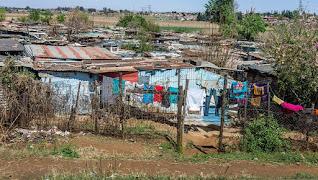 African slums