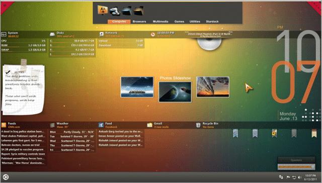 Orange Glow Skin Download
