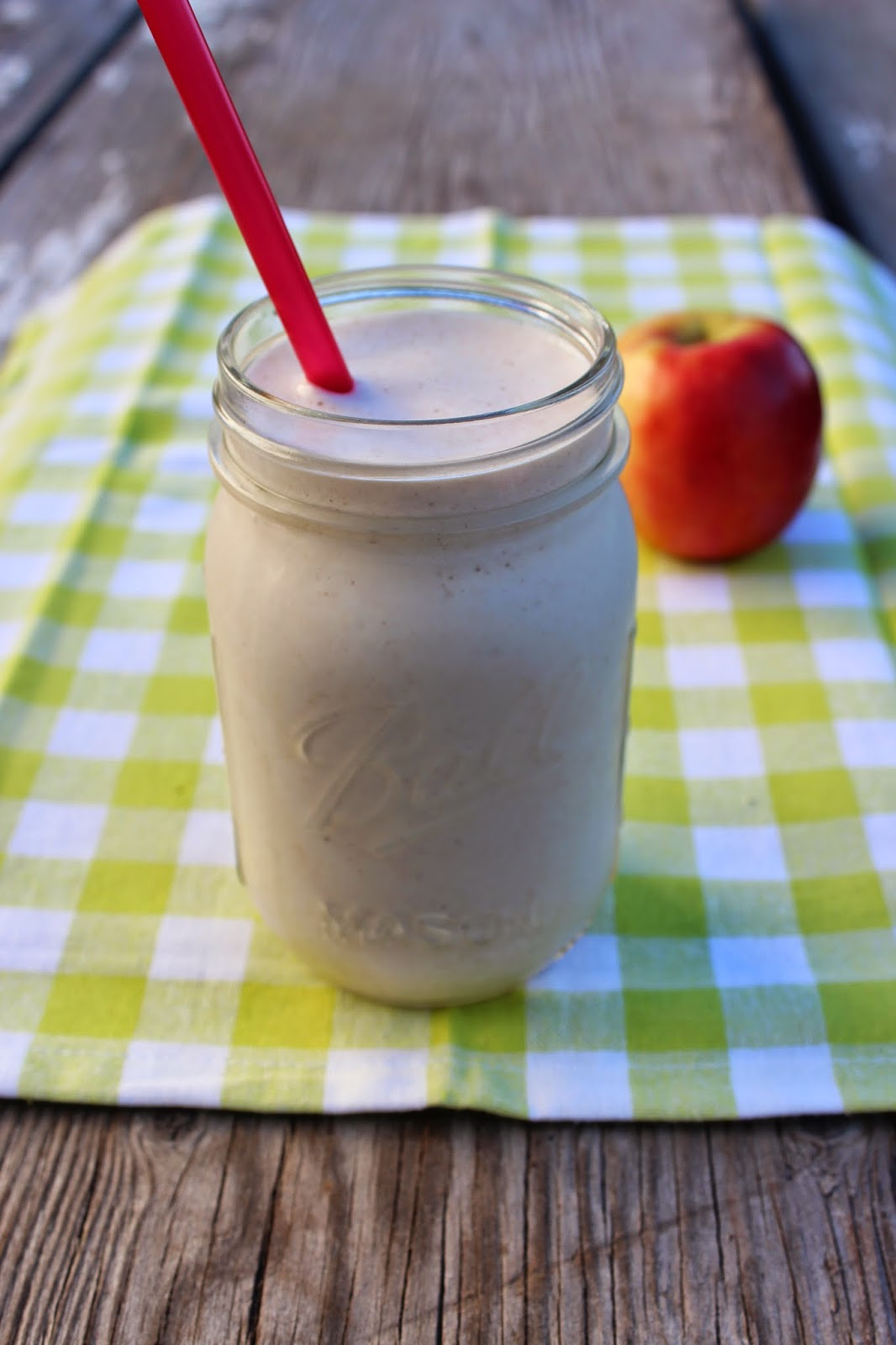 Frozen Apple Pie Smoothie