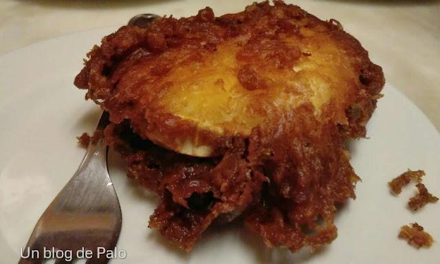 Café Roch - pincho de queso de cabra - Pinchos por Pamplona