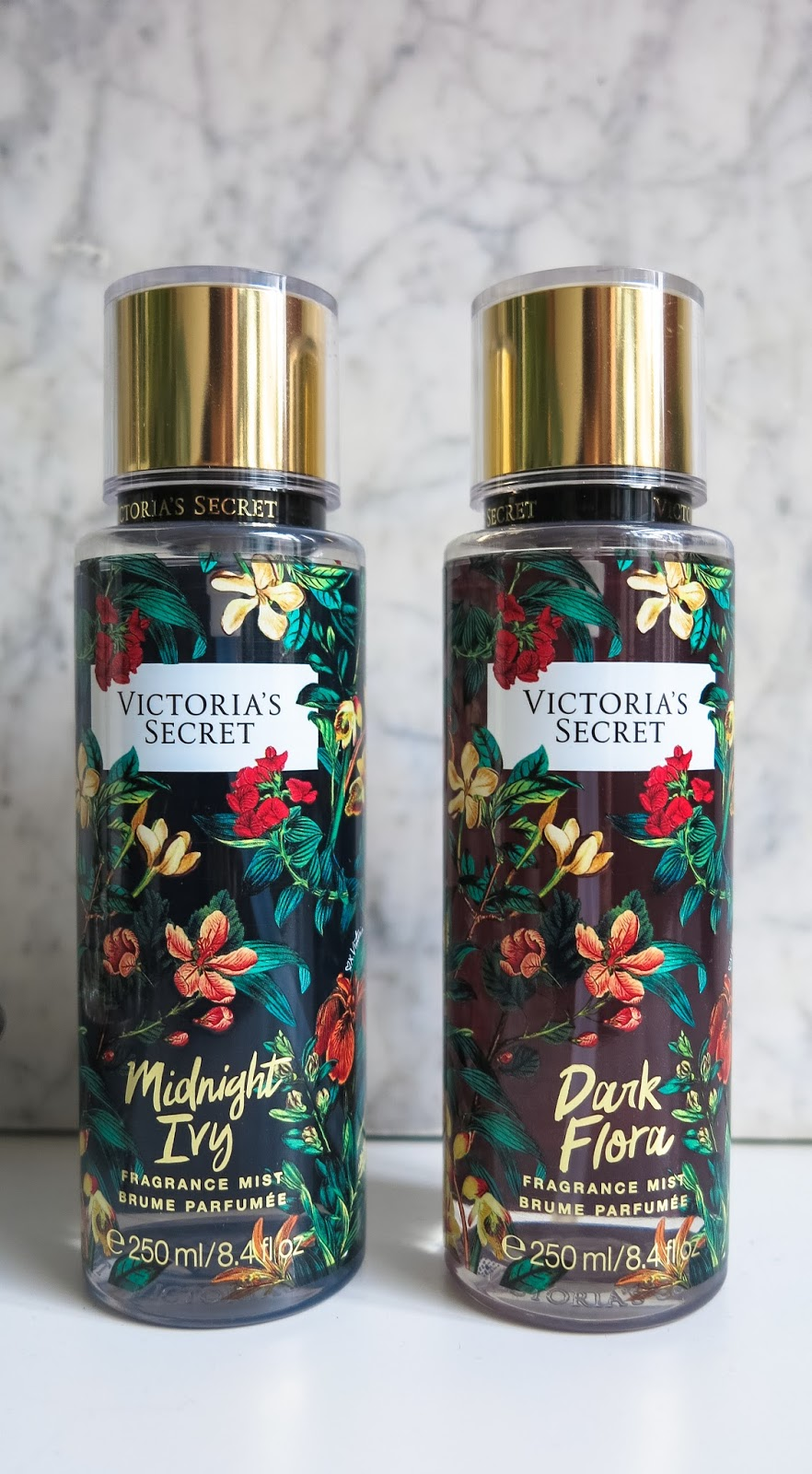 VICTORIAS SECRET Fragrance Mist Dark Flora Midnight Ivy