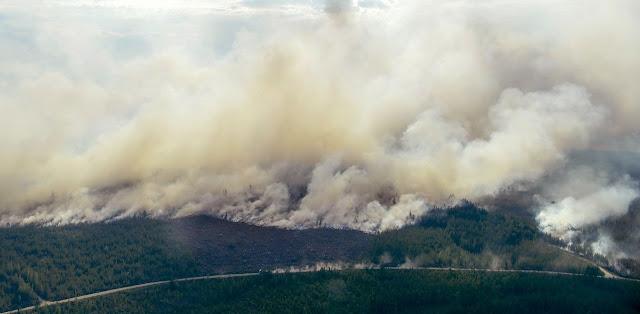 Παγκόσμιο σοκ: Τεράστια οικολογική καταστροφή από τις φωτιές σε Αλάσκα, Σιβηρία και Γροιλανδία (βίντεο)