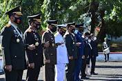 Kapolda Sulut Hadiri Upacara Ziarah Hari Pahlawan di TMP Kairagi Manado