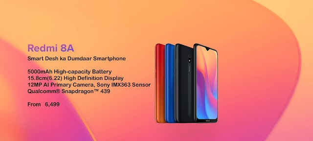 Xiaomi Redmi 8A - Full Phone Specification - Technical CM
