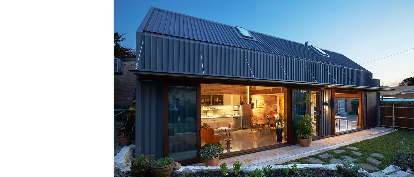 The Shed - Rumah Minimalis Satu Lantai Dengan Mezzanine