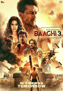 Baaghi 3 (2020) Full Movie Download Free 480p 720p HDCAM