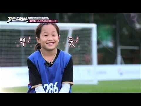 한국 여자축구 유망주 1위 수준