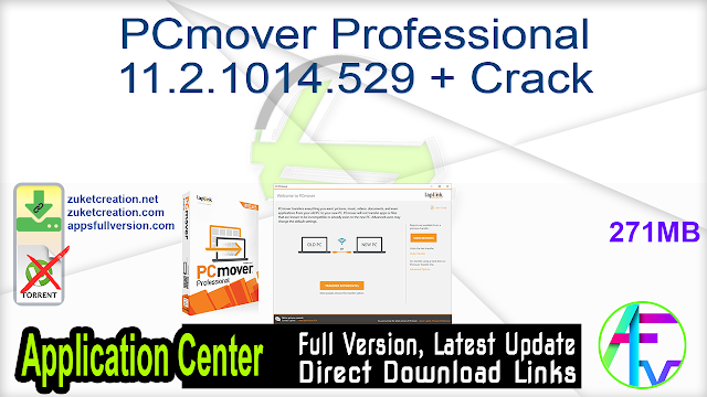 PCmover Professional 11.2.1014.529 + Crack