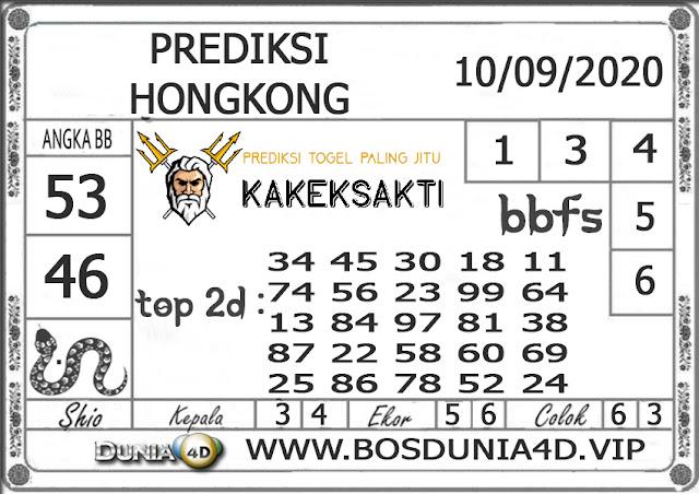 Prediksi Togel HONGKONG DUNIA4D 10 SEPTEMBER 2020