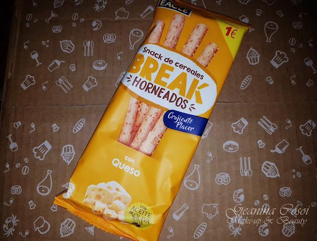 Snack de cereales Break Eagle Caja Degustabox - Octubre ´17