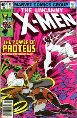 Uncanny X-Men #127, Storm v Proteus