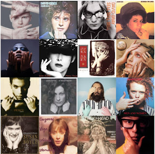 16 album covers featuring hands on them - part 3
