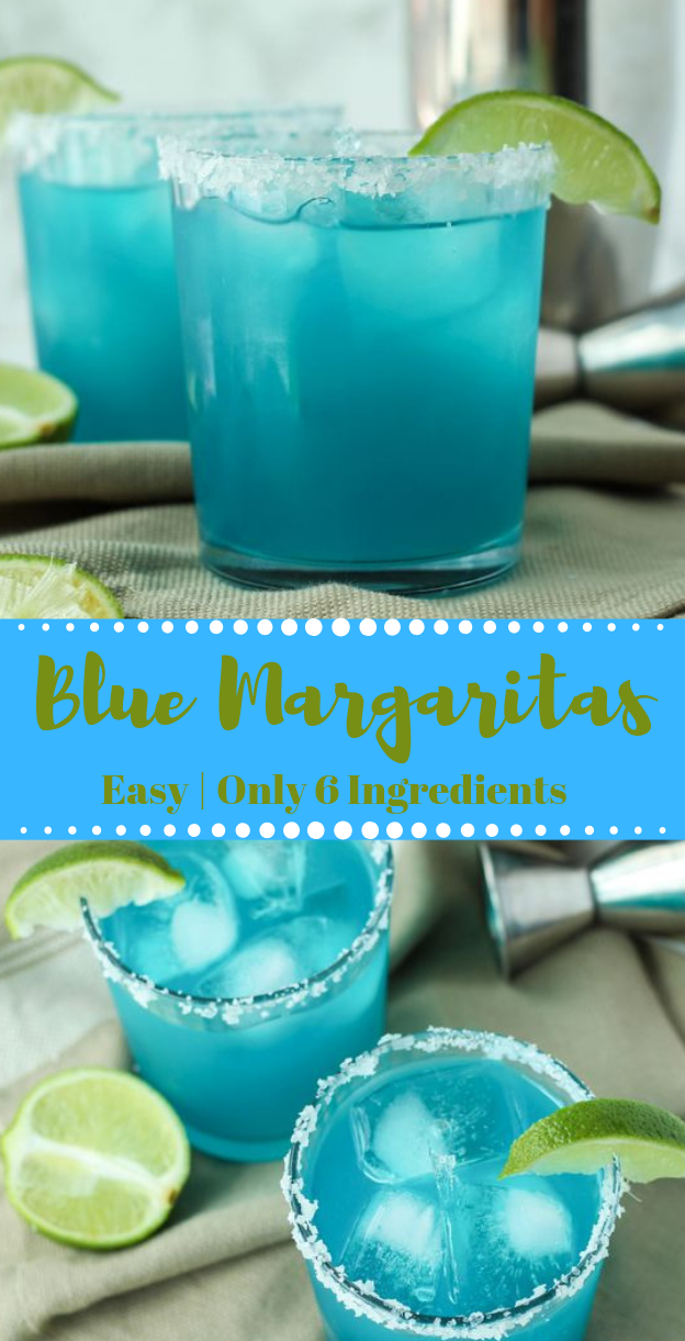Blue Margarita #healthydrink #delicious #Fresh drinks #cocktail #margaritas