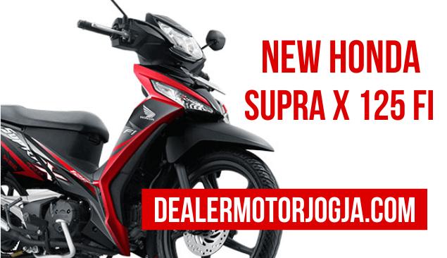 Spesifikasi Lengkap dan Harga Terbaru Motor Honda New Supra X 125 FI 2016 Jogja