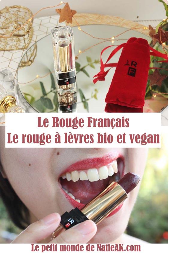 rouge à lèvres bio et vegan avis