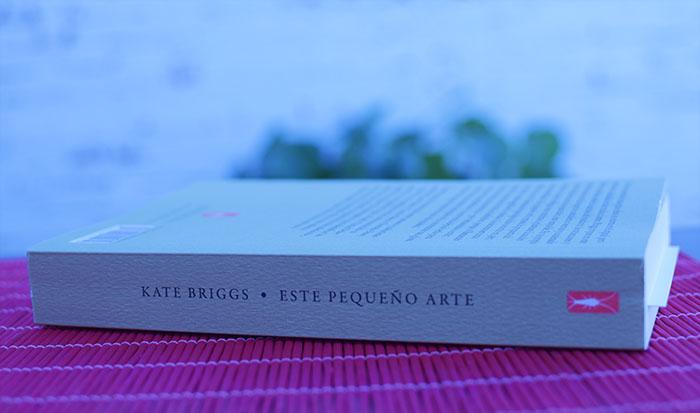 Reseña de «Este pequeño arte» de Kate Briggs (Jekill & Jill)