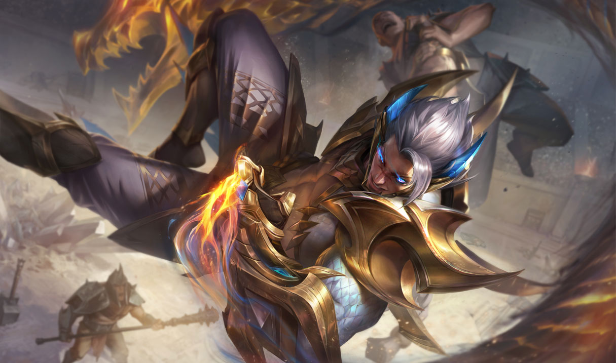 Obsidian Dragon Sett Prestige Edition