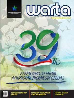 Cover Warta Perpustakaan Nasional, Volume XXIV No.2 Tahun 2019