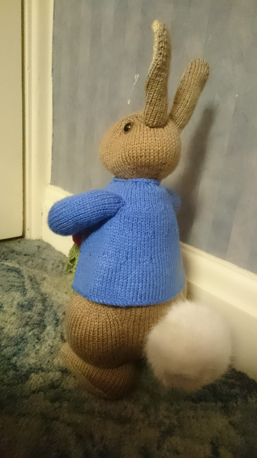 Freddie Patmore: Peter Rabbit Knitting Pattern - A Christmas Make