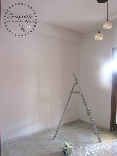 Οδηγίες για να βάψεις μόνος σου τους τοίχους.