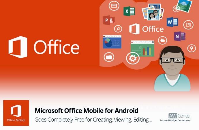 Microsoft Office Kini Hadir Secara Gratis di Android