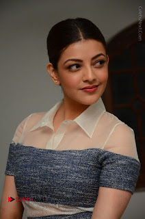 Actress Kajal Agarwal Latest Stills at Khaidi No 150 Movie Interview  0008.JPG