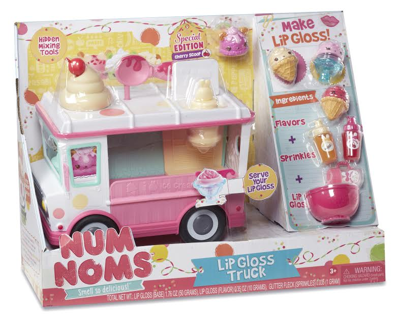 Top Notch Material Kids Will Love The Num Noms Lipgloss Truck