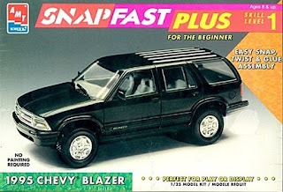 Chevy Blazer 1995 Amt 1/25 Model kit