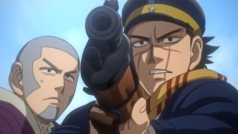 Golden Kamuy anime temporada 2