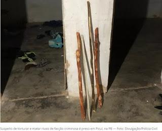 Suspeito de torturar e matar rivais de facção criminosa é preso em Picuí