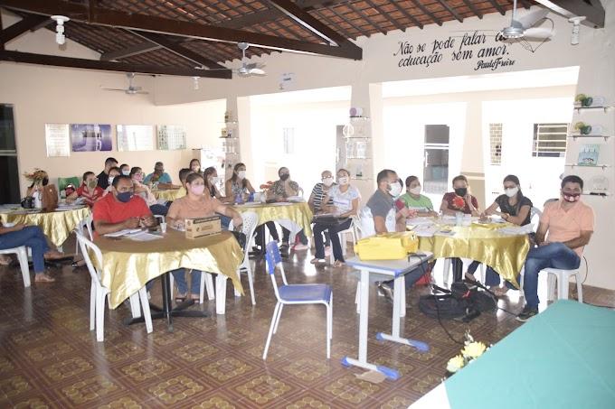 Educação de Cariré promoveu a Formação de Gestão Pedagógica e sobre o Projeto Hora do Saeb