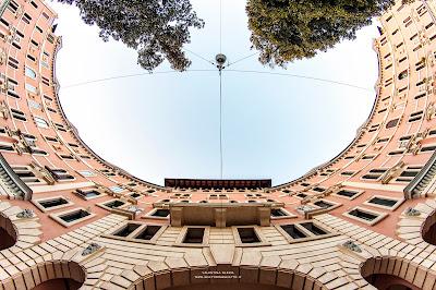palazzo Esedra-Padova-città giardino-architettura