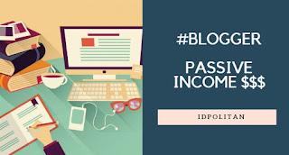 5 Sumber Penghasilan yang bisa anda dapat hanya dari blog