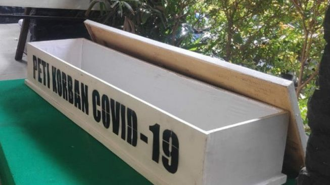 Sebar Peti Korban Covid-19 di Jalanan, Wawalkot Jakpus: Pesan buat Kita