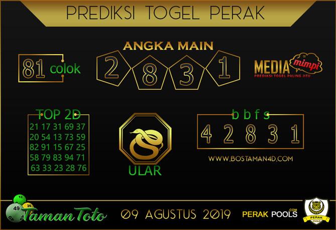 Prediksi Togel PERAK TAMAN TOTO 09 AGUSTUS 2019