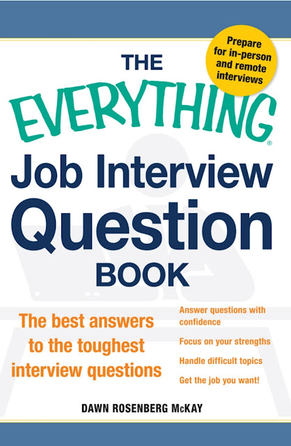 Job Interview Question Book The best answers to the toughest interview questions