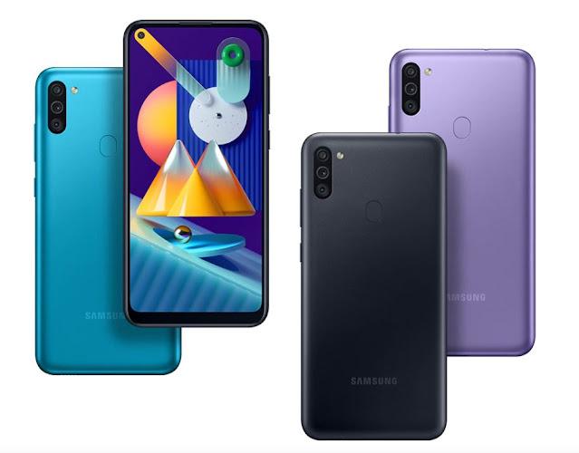 Harga dan Spesifikasi Samsung Galaxy M11 Terbaru di Indonesia
