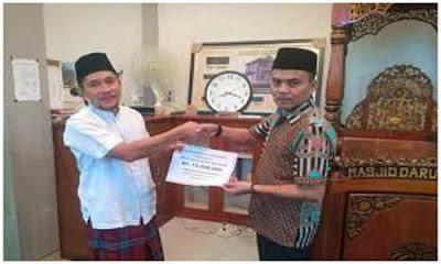 Mushalla Baitul Ikhsan Sungai LarehDapat  Bantuan Anggota DPRD Delma Putra