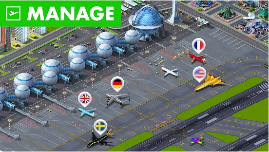Download Airport City MOD APK 7.10.65 ( MOD Unlimited Money) For Android 1
