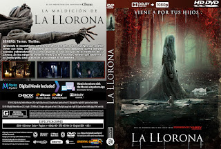 LA LLORONA – THE CURSE OF LA LLORONA – 2019 [COVER – DVD]