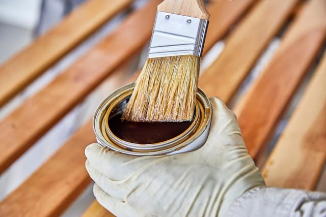 behandeling, coating, steigerhout, bescherming
