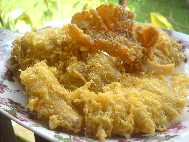..Cooking with soul.....: CENDAWAN GORENG RANGUP