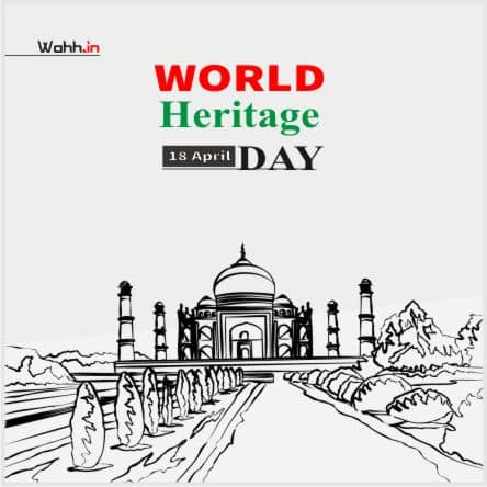 World Heritage Day Quotes  Posters