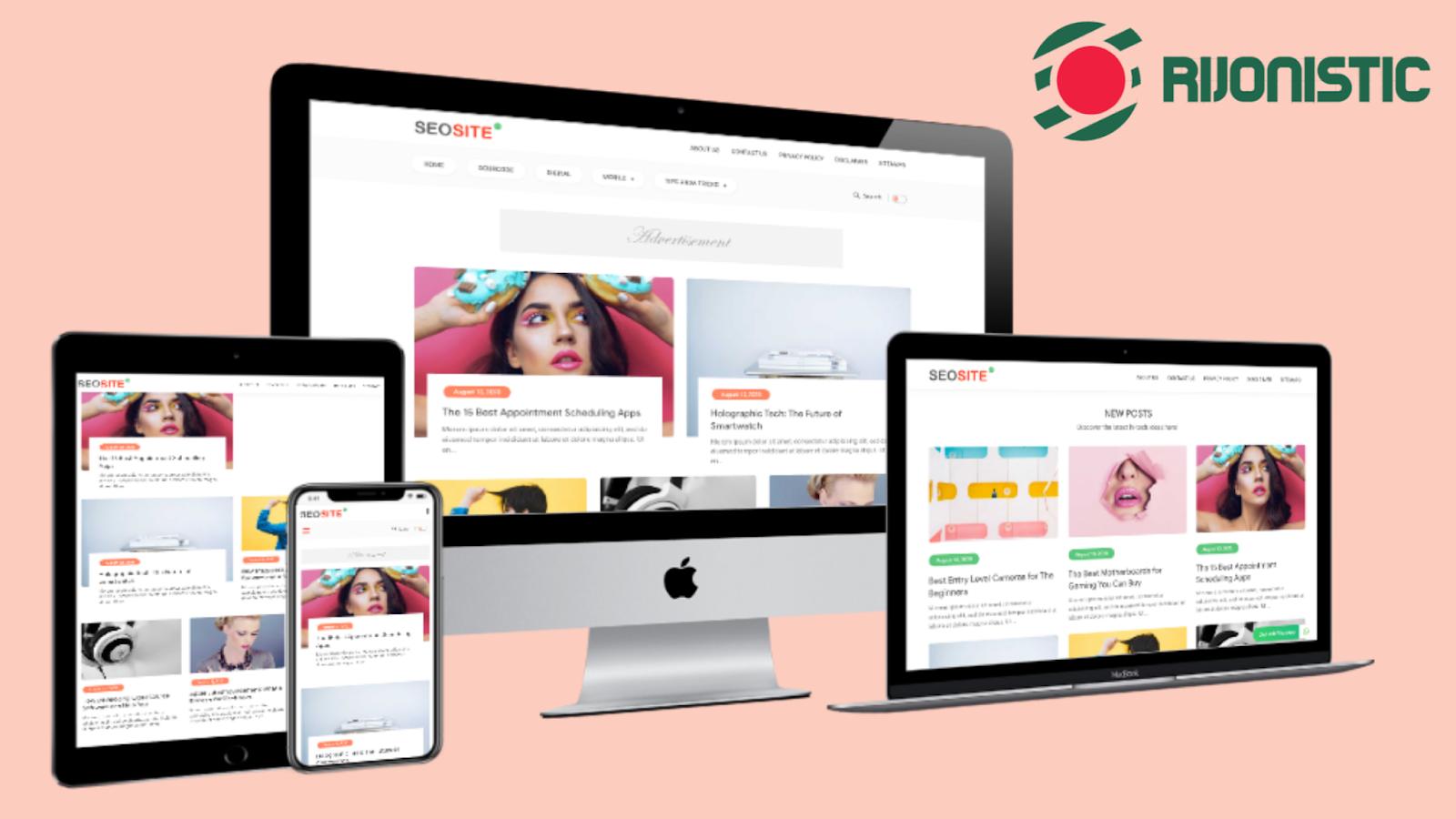 responsive blogger template. seosite blogger template download, seo friendly blogger template download,