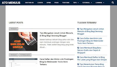daftar blog baru ke google adsense